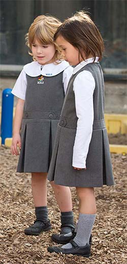 Girls in uniforms pics #12